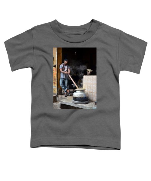 Cooking Breakfast Early Morning Lahore Pakistan Toddler T-Shirt