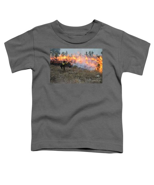 Cooling Down The Norbeck Prescribed Fire. Toddler T-Shirt
