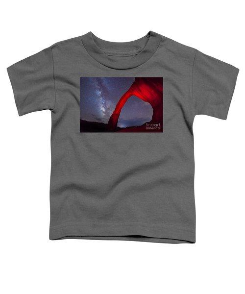 Corona Arch Milk Way Red Light Toddler T-Shirt