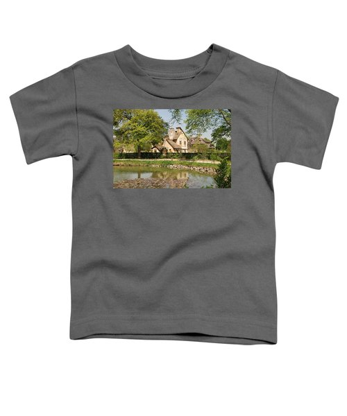 Cottage In The Hameau De La Reine Toddler T-Shirt