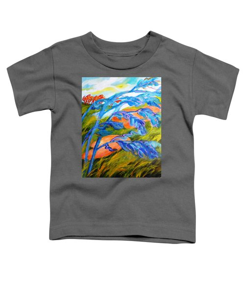 Count The Wind Toddler T-Shirt