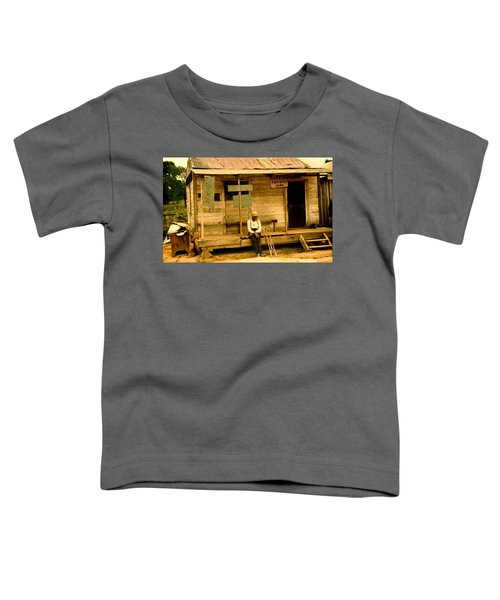 Country Store Natchitoches Louisiana Toddler T-Shirt