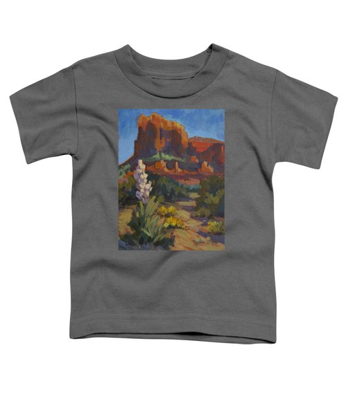 Courthouse Rock Sedona Toddler T-Shirt