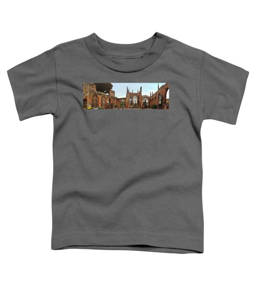 Coventry Cathedral Ruins Panorama Toddler T-Shirt