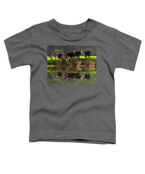 Cow Reflections Toddler T-Shirt