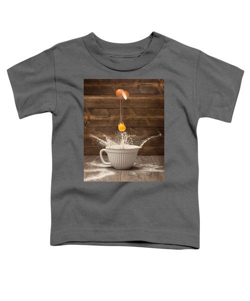 Cracking The Egg Toddler T-Shirt