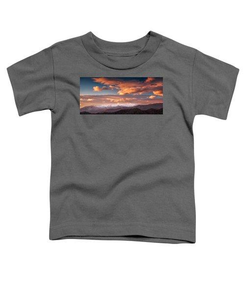 Craggy Snow Toddler T-Shirt