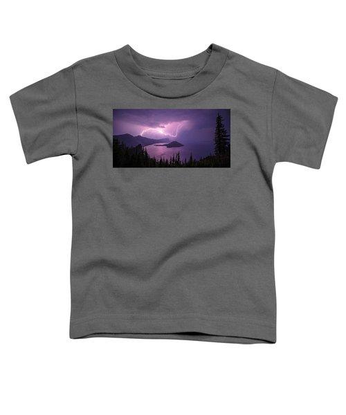 Crater Storm Toddler T-Shirt