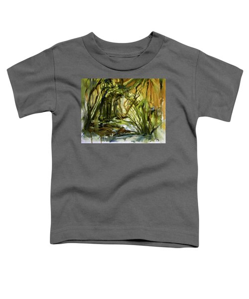 Creek Levels With Overhang Toddler T-Shirt
