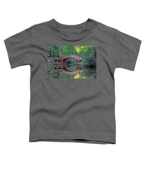 Crim Dell Bridge In Summer Toddler T-Shirt