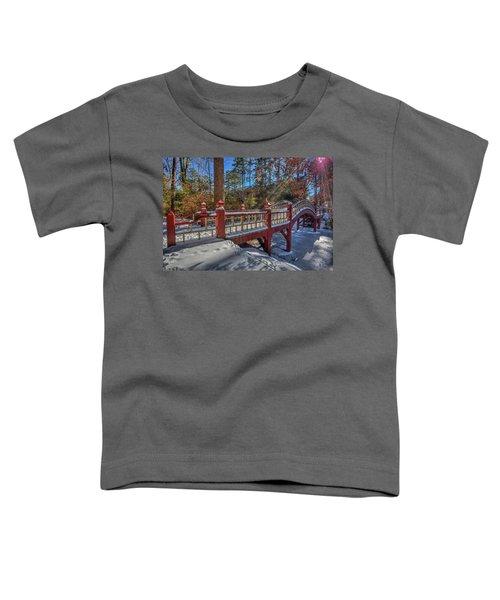 Crim Dell Bridge William And Mary Toddler T-Shirt