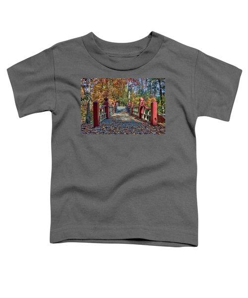 Crossing The Crim Dell Bridge II Toddler T-Shirt