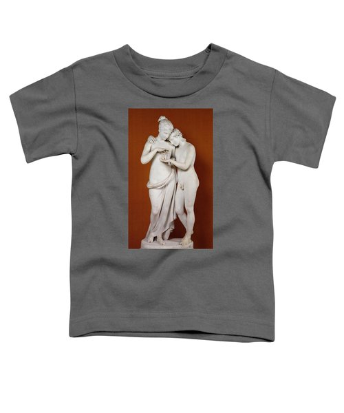 Cupid And Psyche Toddler T-Shirt by Antonio Canova
