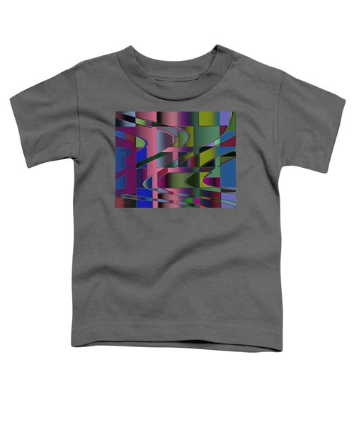 Curves And Trapezoids 3 Toddler T-Shirt