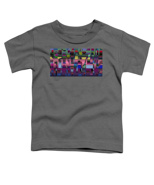 Curves And Trapezoids  Toddler T-Shirt