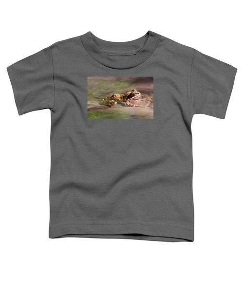 Cute Litte Creek Frog Toddler T-Shirt