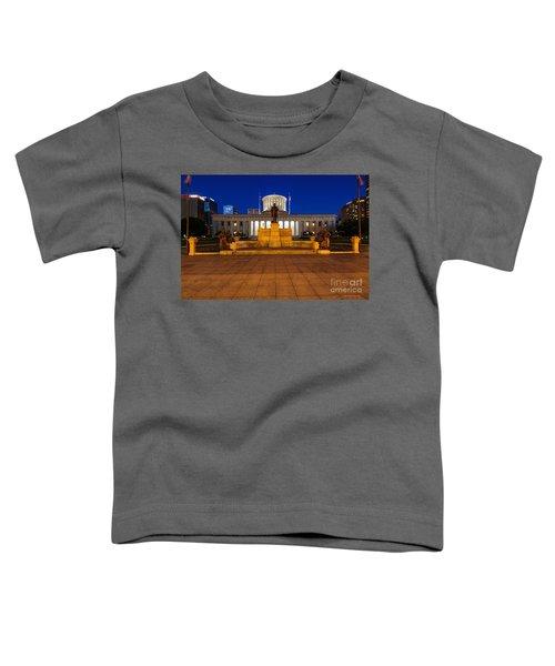 D13l112 Ohio Statehouse Photo Toddler T-Shirt