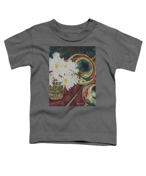 Daisies Bold As Brass Toddler T-Shirt