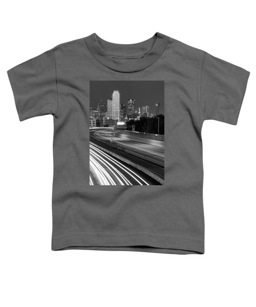 Dallas Arrival Bw Toddler T-Shirt