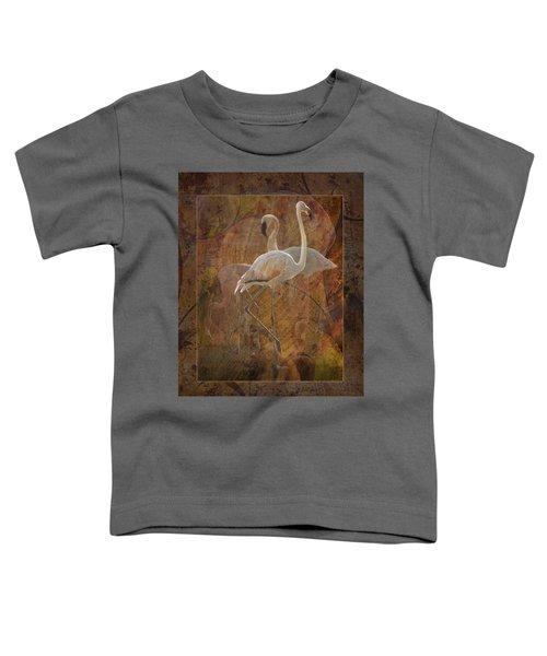 Dance Of The Flamingos Toddler T-Shirt