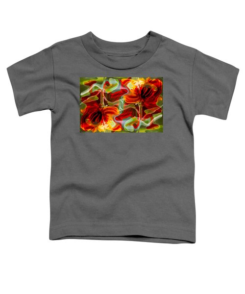 Dancing Flowers Toddler T-Shirt