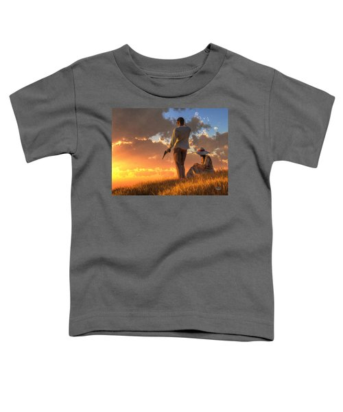 Danger At Sundown Toddler T-Shirt
