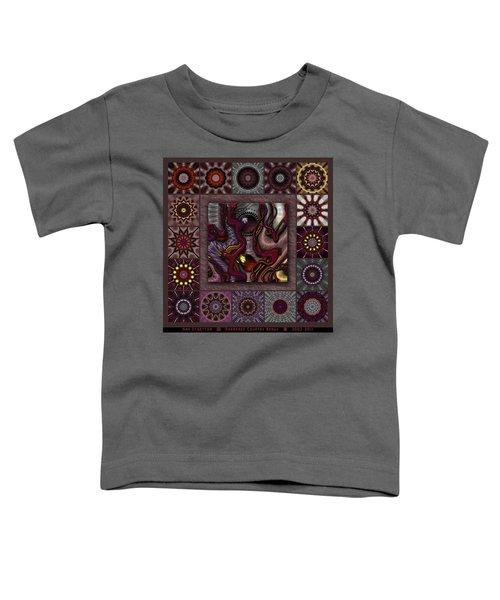 Darkened Country Redux Toddler T-Shirt