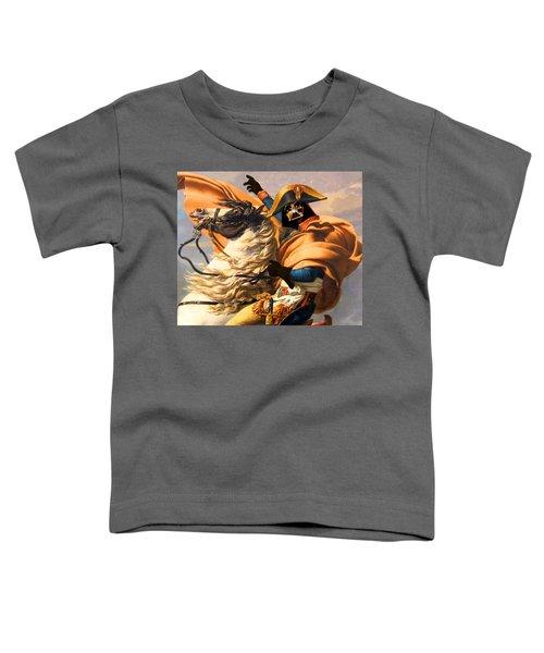 Darth Vader Star Wars Napoleon Painting Toddler T-Shirt