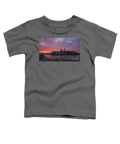Dawn At The Nubble Toddler T-Shirt