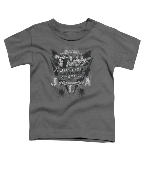 Dc - Greatest Heroes Toddler T-Shirt