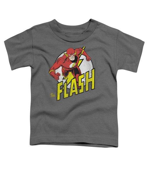 Dc - Run Flash Run Toddler T-Shirt