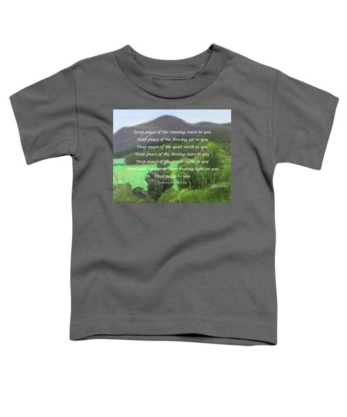 Deep Peace With Ct River Valley Toddler T-Shirt