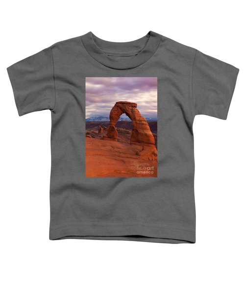 Delicate Arch Dusk Toddler T-Shirt