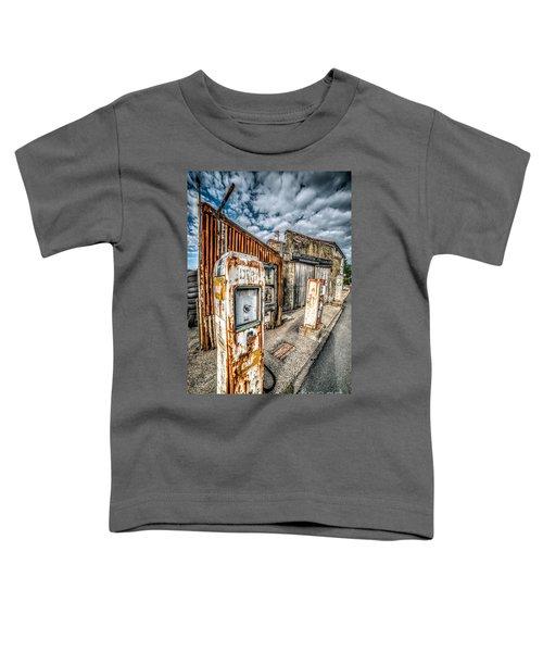 Derelict Gas Station Toddler T-Shirt