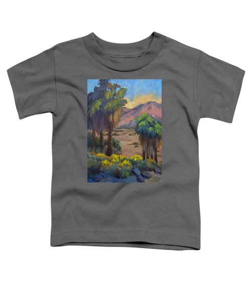 Desert Marigolds At Andreas Canyon Toddler T-Shirt