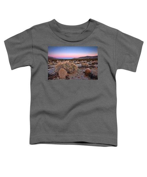 Desert Twilight Toddler T-Shirt