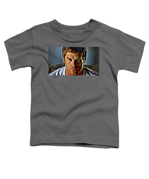 Dexter Portrait Toddler T-Shirt