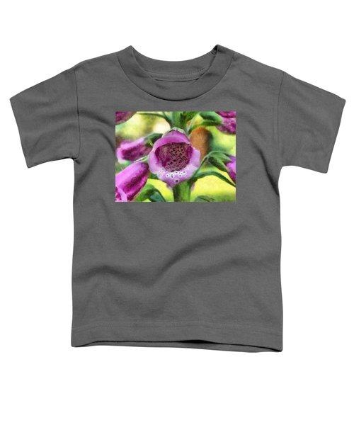 Digitalis Purpurea Toddler T-Shirt