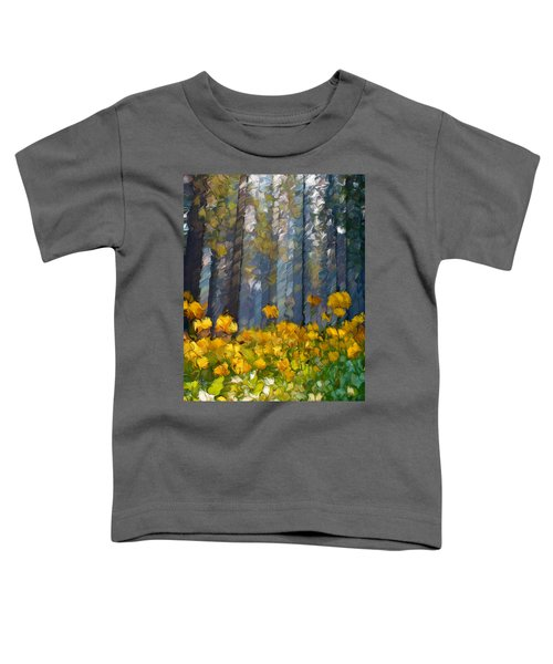 Distorted Dreams By Day Toddler T-Shirt