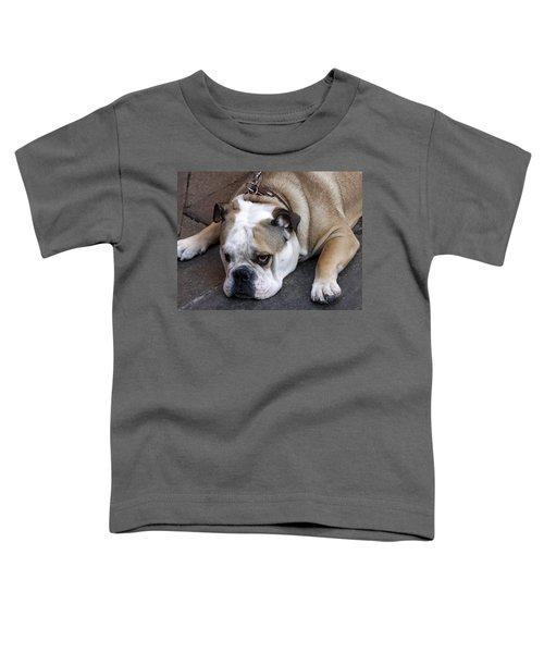 Dog. Tired. Toddler T-Shirt