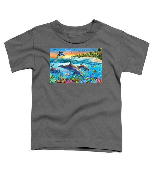 Dolphin Bay Toddler T-Shirt