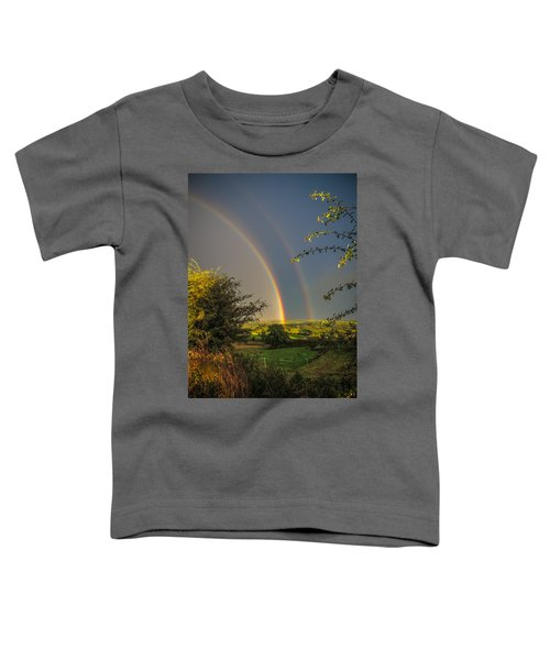Double Rainbow Over County Clare Toddler T-Shirt