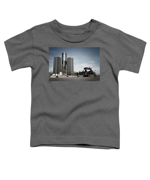 Downtown Detroit Toddler T-Shirt