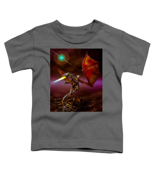 Dragon Rider Toddler T-Shirt by Bob Orsillo