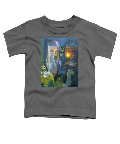 Dressing Room Victorian Style Oil On Board Toddler T-Shirt