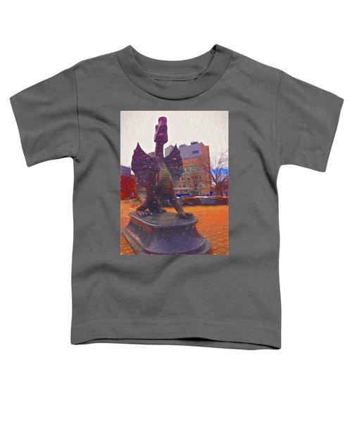 Drexel Dragon Colored Toddler T-Shirt