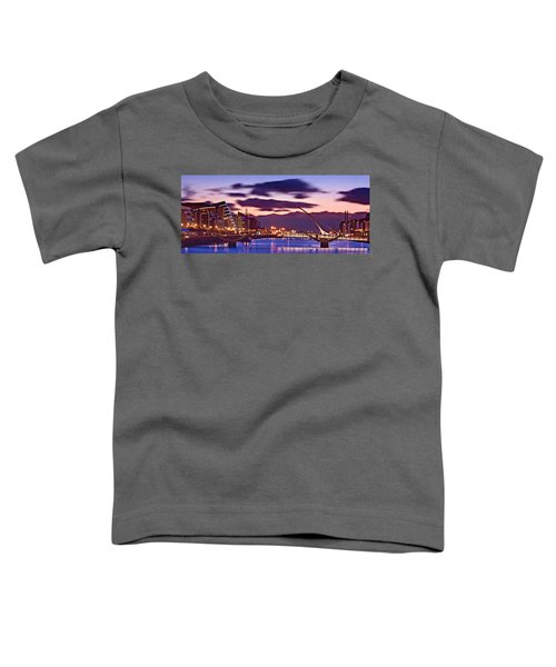 Dublin Docklands At Dawn / Dublin Toddler T-Shirt