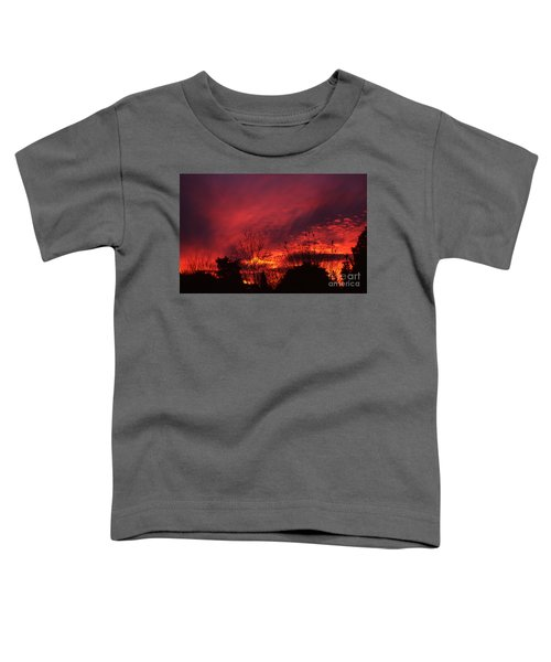 Dundee Sunset Toddler T-Shirt