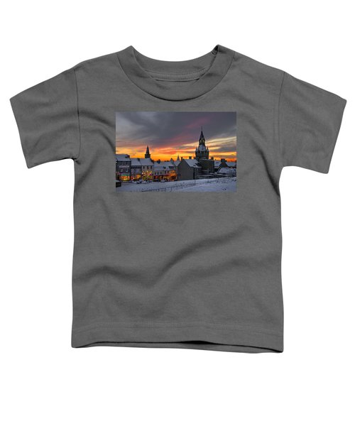Dunfermline Winter Sunset Toddler T-Shirt