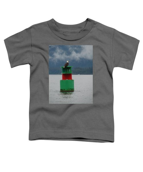 Eagle On Bouy Toddler T-Shirt